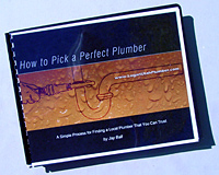Consumer Guide - How to Pick a Plumber
